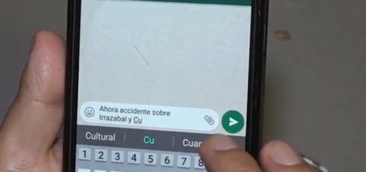 Encarnación: ahora podrán denunciar las infracciones y accidentes de tránsito a través de WhatsApp