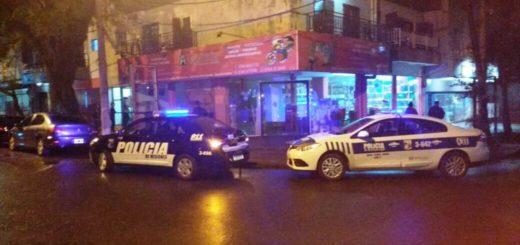Dañó el frente de un edificio en Posadas y terminó detenido