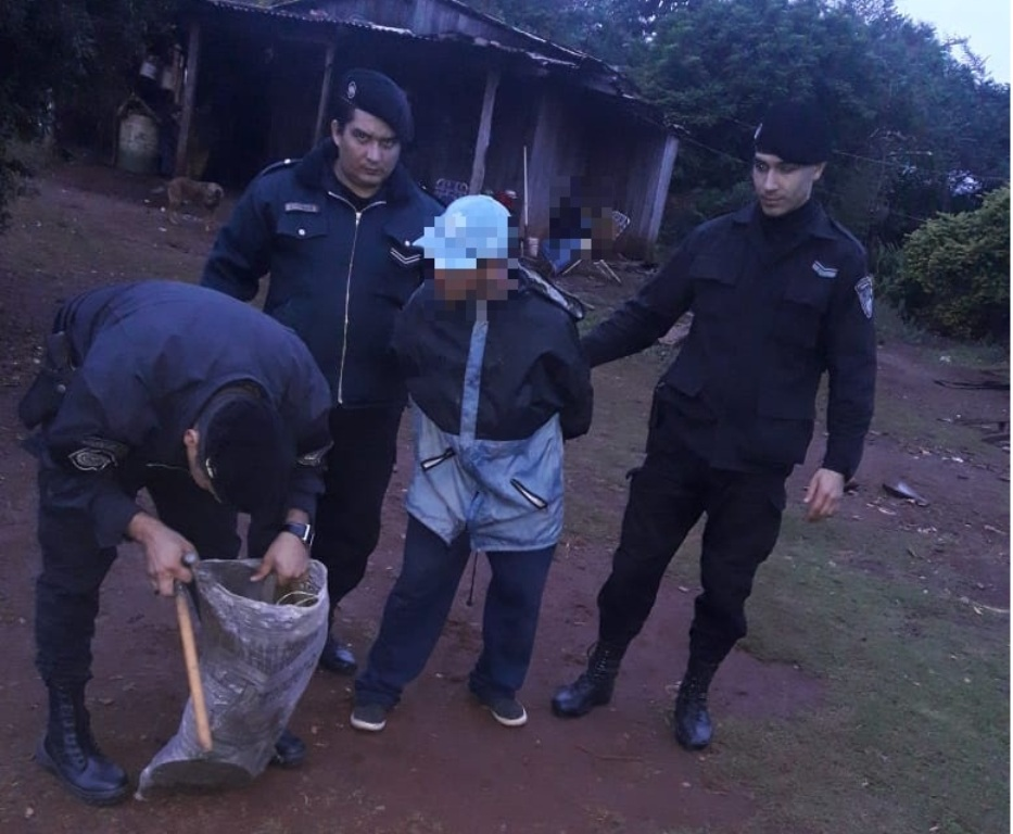 Ladrón intentó asaltar en un comercio y terminó detenido en persecución en Posadas