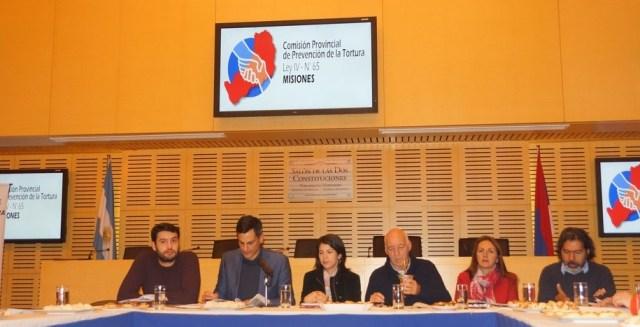 Se reunió en la Legislatura el Consejo consultivo de la Comisión provincial de prevención de la tortura