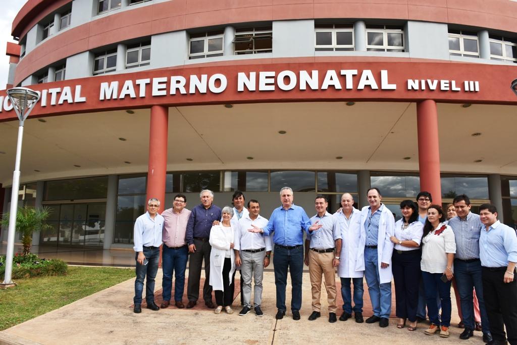 """""""Misiones es vanguardia en parto humanizado"""", dijo Passalacqua al habilitar el moderno Hospital Materno Neonatal"""
