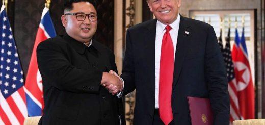 Kim Jong-un, reafirma ante Trump en una cumbre histórica un vago compromiso de desnuclearización