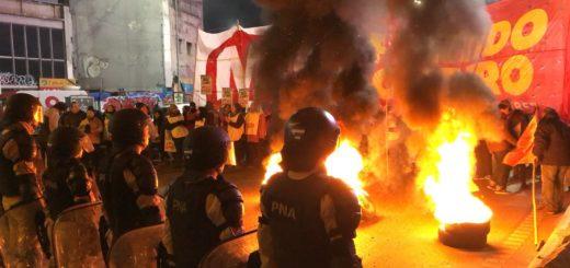 #ParoNacional: cortes, piquetes y manifestaciones en Buenos Aires