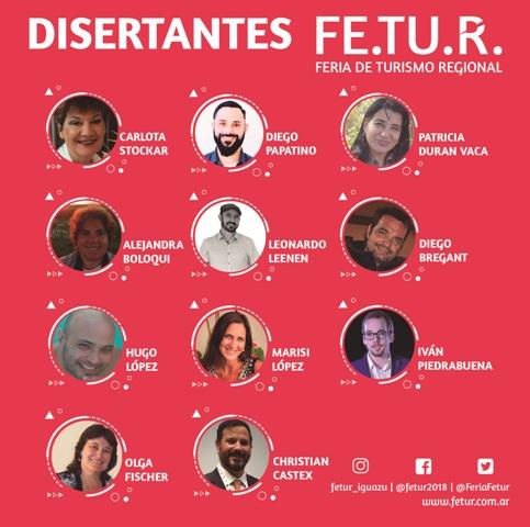Las disertaciones que ofrecerá la Feria y Workshop de Turismo Regional