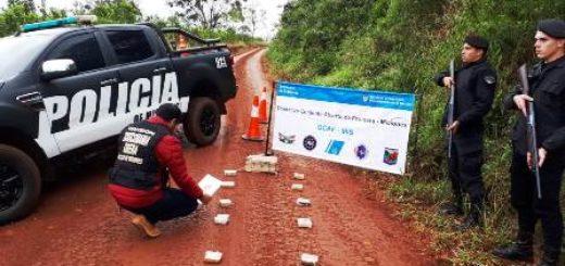 La Policía incautó más de cuatro kilos de marihuana en Campo Viera