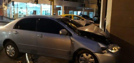 Dos vehículos protagonizaron un accidente en el centro posadeño
