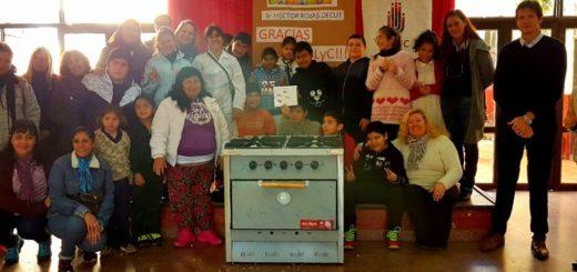 IPLyC SE donó cocina para Escuela Especial N° 4