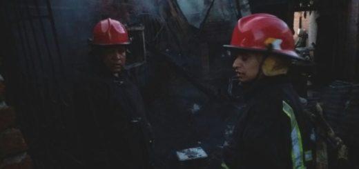 Socorrieron a un hombre que incendió su vivienda accidentalmente en Posadas