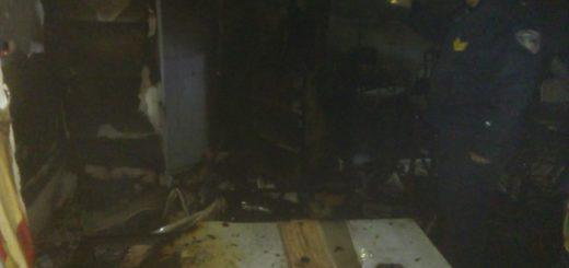 Bomberos sofocaron incendio en el CEP 1 de Posadas
