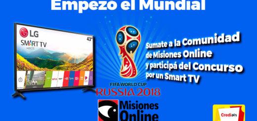 Empezó el Mundial: Sumate a la Comunidad de Misiones Online y participá del concurso por un Smart TV