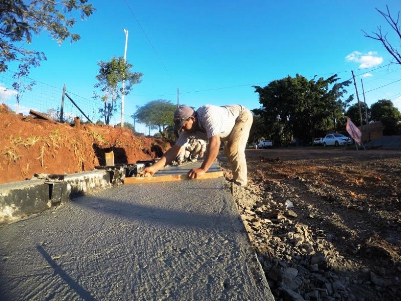 Vialidad avanza con obras de infraestructura urbana en Posadas
