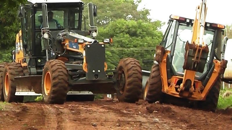 La Municipalidad de Posadas realizó obras de mejoramiento vial en el barrio Libertador