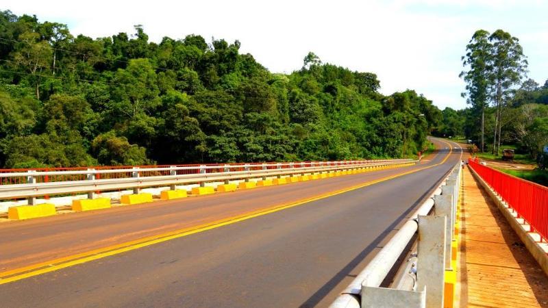 Por pruebas de carga sobre el puente Paranaí Guazú será restringida la circulación de vehículos