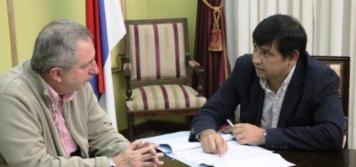 Passalacqua se reunió con el intendente posadeño por obras de saneamiento del Arroyo Itá