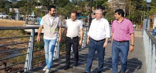"""Passalacqua recorrió puntos emblemáticos de Posadas en el lanzamiento de los """"Paseos turísticos guiados"""""""