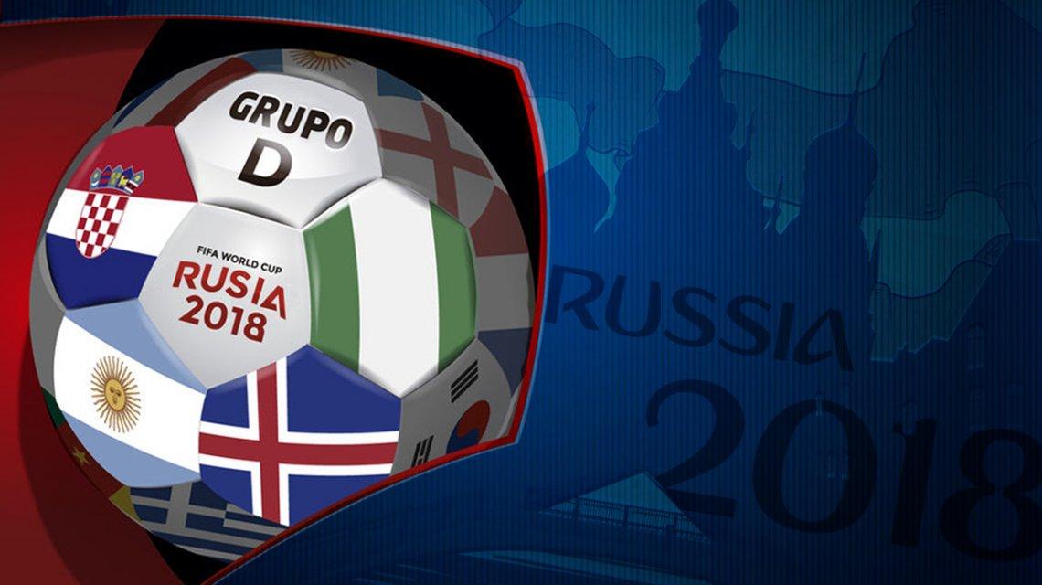 #Mundial2018: así quedó la tabla de posiciones del Grupo D tras la primera fecha