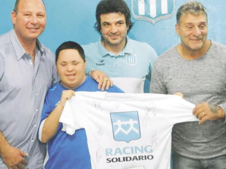 """En accidente vial de Candelaria falleció el presidente del Racing Club Filial Misiones, Damián """"Chiqui"""" López"""