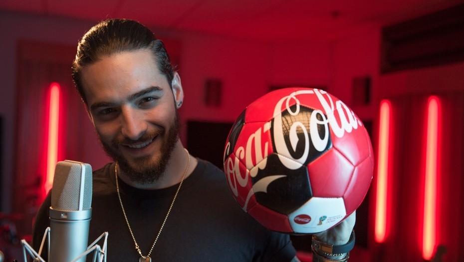 La canción de Coca-Cola y Maluma para el Mundial es furor en las redes sociales