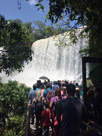 Cataratas ya superó las 700 mil visitas en lo que va del año
