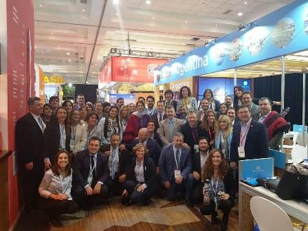 El Iguazú Convention Bureau participó de la FIEXPO Latinoamérica en Chile