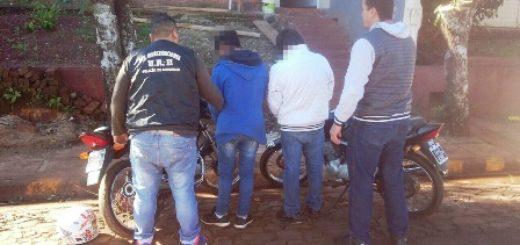 Investigación: la Policía recuperó más motocicletas robadas en Oberá y detuvo a dos jóvenes