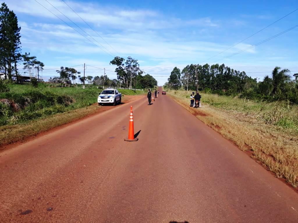 Motos incautadas y licencias retenidas en operativos viales y de prevención en distintos barrios de la zona norte de Misiones