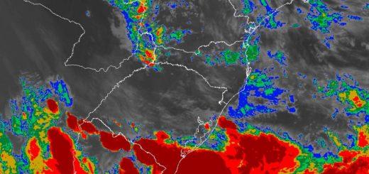 Lunes con tormentas severas y alerta por alta probabilidad de granizo