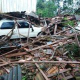 Violento temporal dejó un muerto y daños materiales