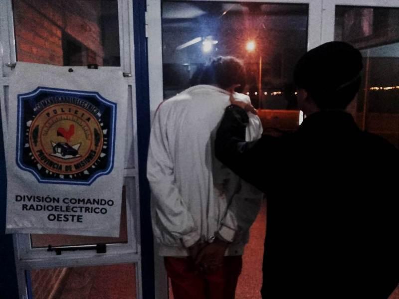 """Posadas: detuvieron a """"Dumbo"""" tras destrozar la casa de su hermana y robarle el teléfono celular"""