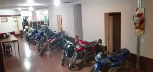 En Megaoperativo policial hubo 47 detenidos y retuvieron más de 100 motos en toda la Provincia
