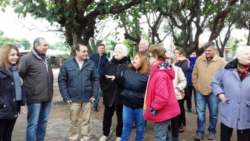 El Vicegobernador y el Presidente de Vialidad provincial recorrieron obras realizadas en el barrio Kennedy de Posadas