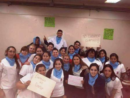 Eldorado: médicos del hospital Samic se manifestaron a favor de la vida