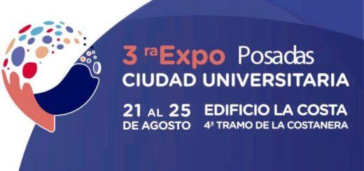 Del 21 al 25 de agosto se realizará la tercera edición de la Expo Posadas Ciudad Universitaria