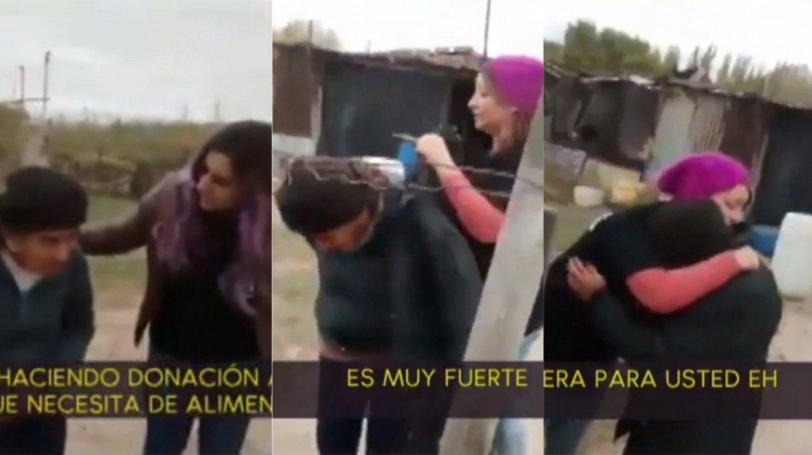 Video: se viralizó un gesto solidario que conmueve hasta las lágrimas
