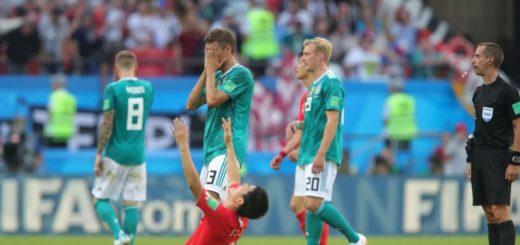 #Mundial2018: polémica por el título de un diario español para graficar la eliminación de Alemania