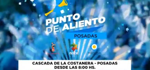 #Mundial2018: Instalarán pantalla gigante en la cascada de la Costanera para ver el partido Argentina vs Francia
