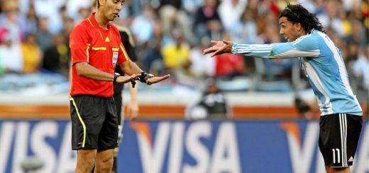#Mundial2018: Ya hay árbitro para Argentina-Croacia y le trae un mal recuerdo a la Albiceleste