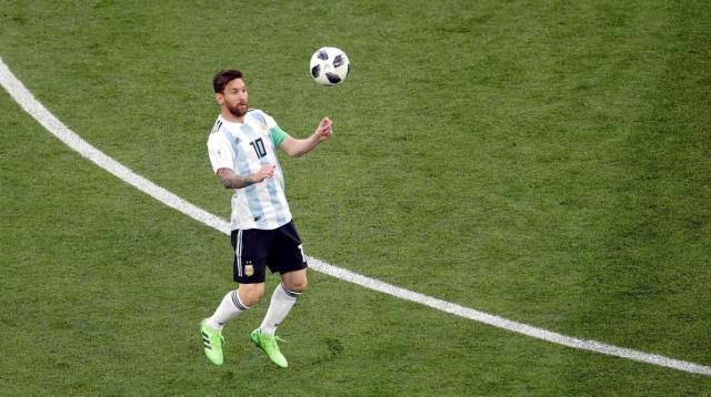 #Mundial2018: Argentina gana 2-1 a Nigeria y se mete en octavo