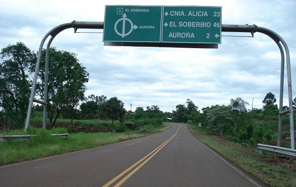 Colonia Aurora: Choque en la Ruta 2 dejó una mujer fallecida