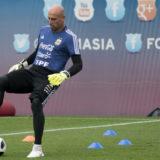 #Mundial2018: Tapia dijo que se suspendió el partido entre Argentina e Israel para priorizar la seguridad de los jugadores