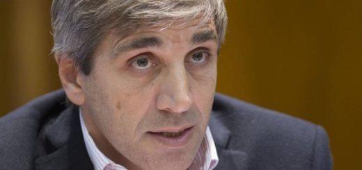 """Luis Caputo: """"lo primero que hay que hacer es dar estabilidad cambiaria"""""""