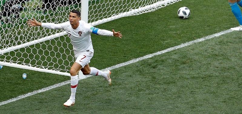 #Mundial2018: Cristiano Ronaldo rompe un nuevo récord
