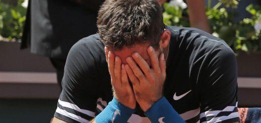 """Roland Garros: """"Luego de la victoria, Del Potro explotó en llanto y explicó por qué lo hizo"""""""