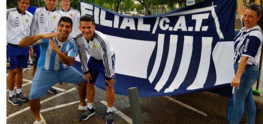 El sparrings misionero que acompaña a la selección estuvo con la filial de Talleres en Barcelona