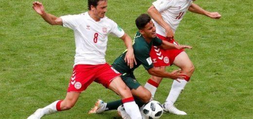 #Mundial2018: Dinamarca y Australia igualaron 1 a 1