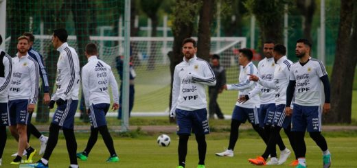 #Mundial2018: Argentina se entrenará a puertas abiertas