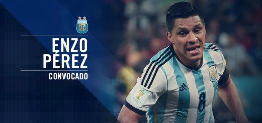 #Mundial2018: Enzo Pérez será el reemplazante de Lanzini en la Selección