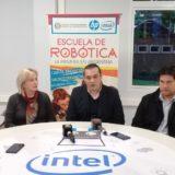 Escuela de Robótica y la Fundación Conciencia suscribieron convenio de colaboración