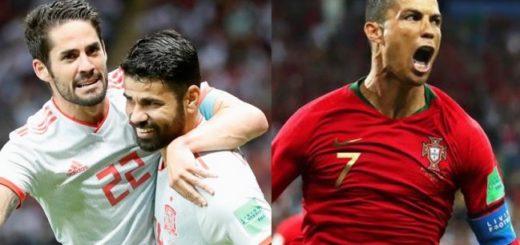#Mundial2018: España y Portugal sufrieron pero se clasificaron a octavos de final