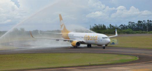 Flybondi inaugura una nueva conexión hacia Misiones con vuelos diarios desde El Palomar hacia Iguazú